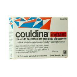 Couldina Instant Acido Acetilsalicilico 10 Sobres
