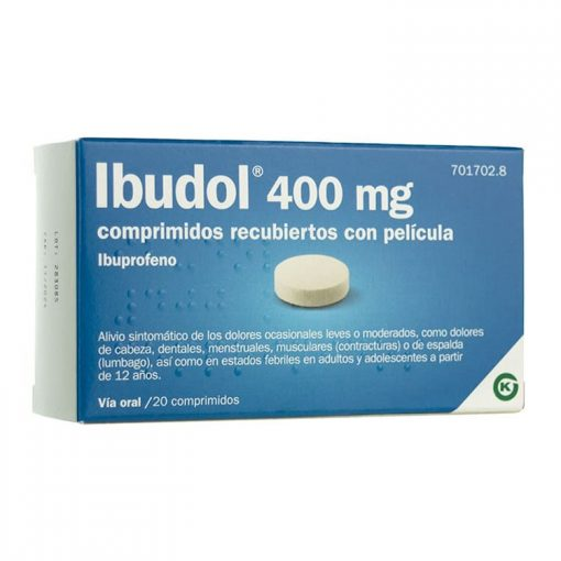 Ibudol 400 20 Comprimidos
