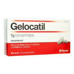 Gelocatil 1 g 10 Comprimidos