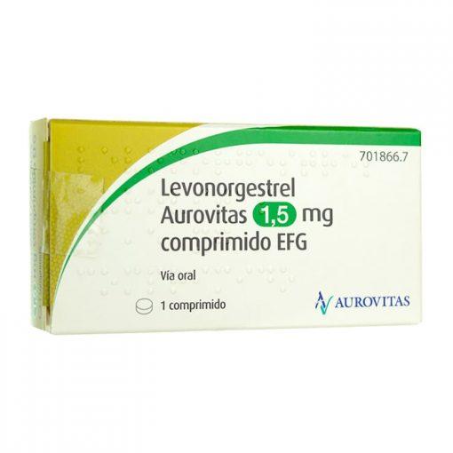 Levonorgestrel Aurovitas 1 Comprimido