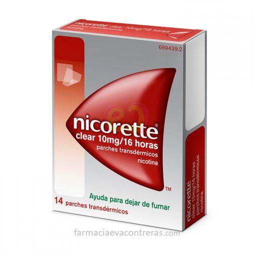 Nicorette-Clear-10-mg-14-parches