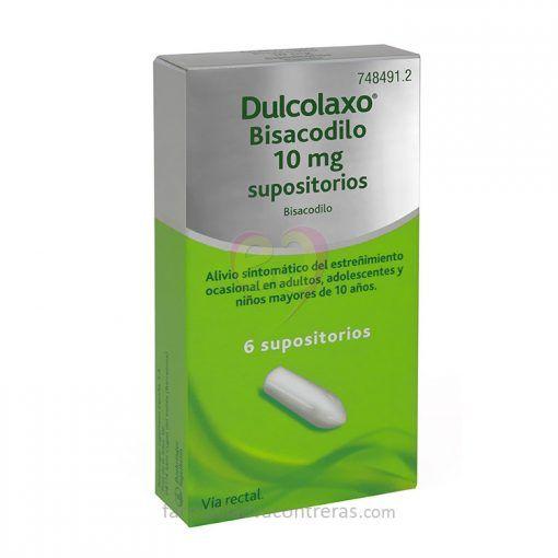 Dulcolaxo-Bisacodilo-Supositorios