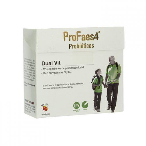 Profaes4-Probioticos-Dual-Vit-30-Sticks