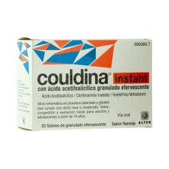 Couldina Instant Acido Acetilsalicilico 20 Sobres