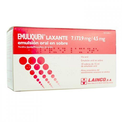 Emuliquen Laxante Emulsion Laxante Sobres