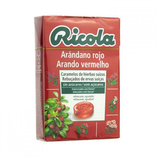 Ricola Caramelos Arandano Rojo 50 gr