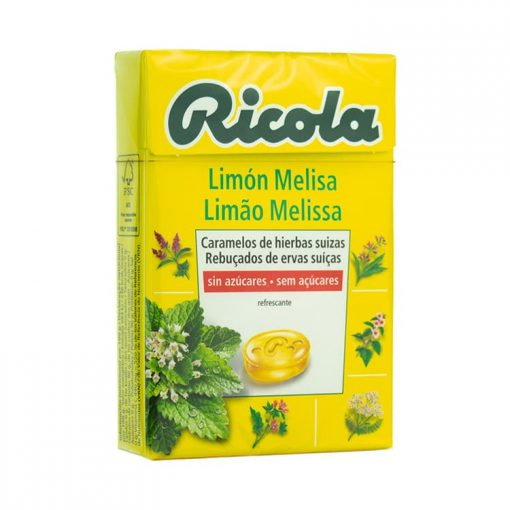Ricola Caramelos Limon Melisa 50 gr