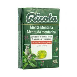 Ricola Caramelos Menta Montana 50 gr