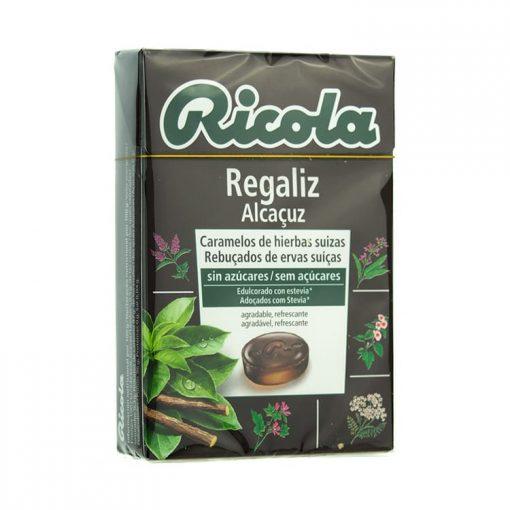 Ricola Caramelos Regaliz 50 gr