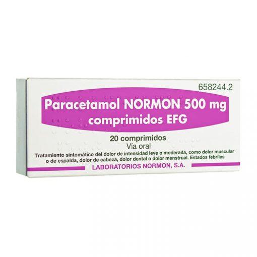 Paracetamol-Normon-500-mg-20-Comprimidos