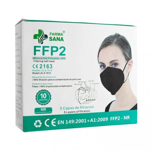 Farma-Sana-Mascarillas-Filtrantes-FFP2-NR-Negras-10-unidades