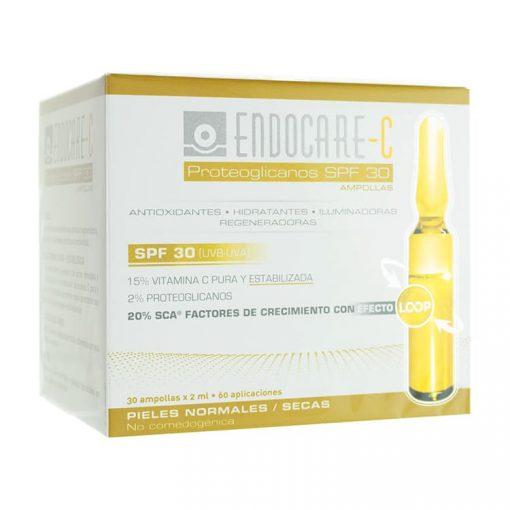 Endocare-C-Proteoglicanos-SPF-30-30-Ampollas
