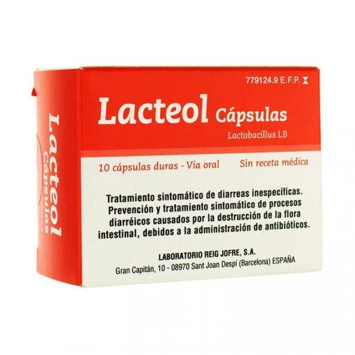 Lacteol-10-Capsulas