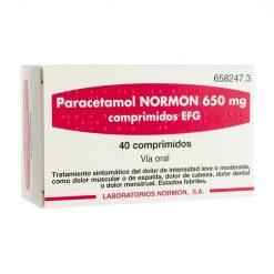 Paracetamol-Normon-650-mg-40-Comprimidos